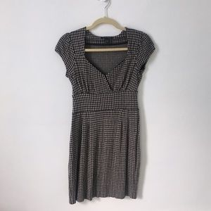 Banana Republic | houndstooth knit dress | M